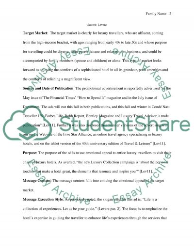 Marketing - Promotion Assignment Essay example