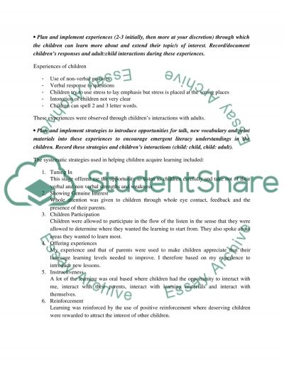 Language learning process essay example