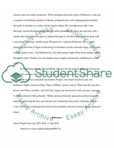 Literary Response #7 essay example