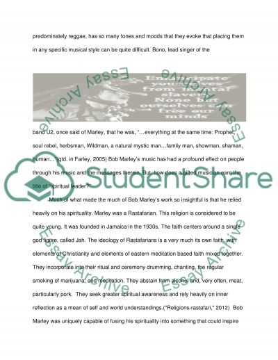 Religion: Spirituality and Leadership class essay example