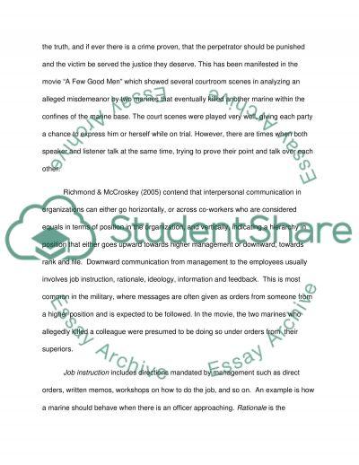 interpersonal communication and movies research paper interpersonal communication and movies essay example
