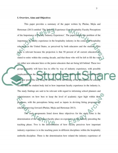 Summarizing essay example