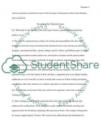 Research assignment essay example