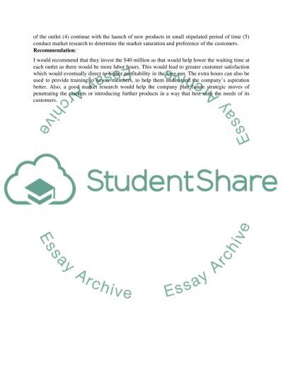 Business Strategic Management Executive Summary of Starbucks essay example