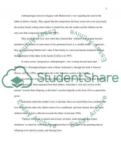 English 101 the family essay example