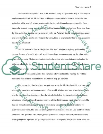 Comparative Essay about two short story