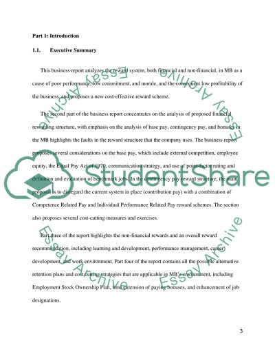 essay about work environment
