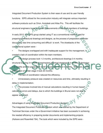 IDPS Latest Roundup essay example