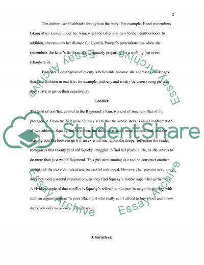 Short Story Analysis Sheet