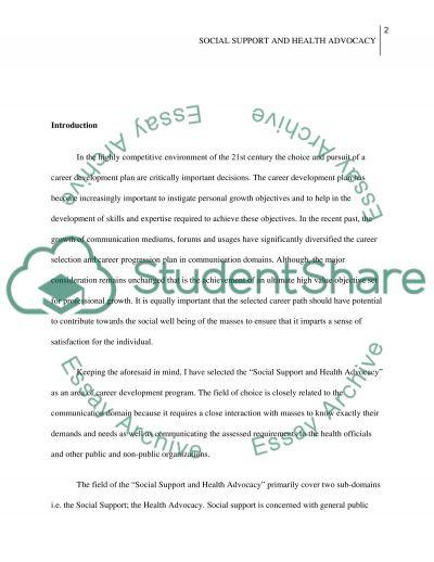Creer devlpment essay example