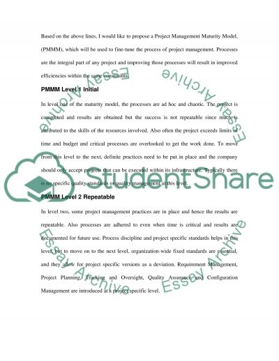 Project Scope, Time, Cost, and Quality essay example