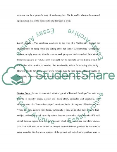 Discussion Questions essay example