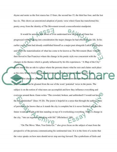 Poetry essay example