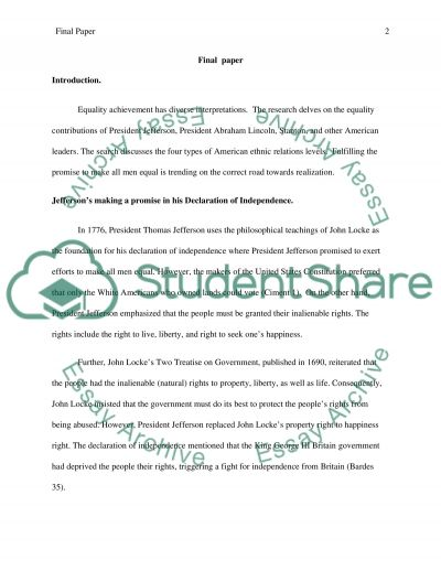 History of the USA essay example