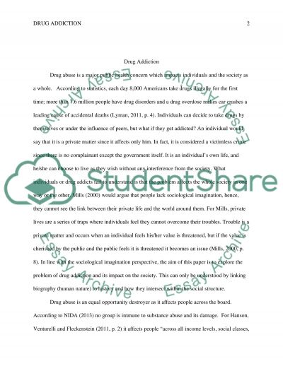 substance abuse essay