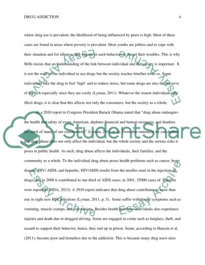 drug addiction essay outline Prescription drug abuse research paper ideas  for his autobiography essay and  symptoms, a research paper outline but does addiction summary, facts.