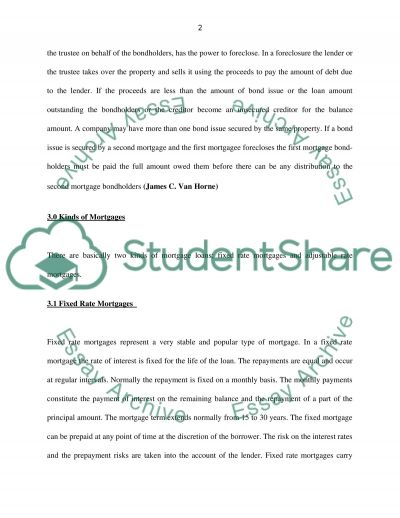 Derivative Investment Essay example