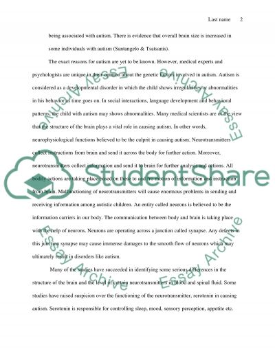 sample of research essay paper