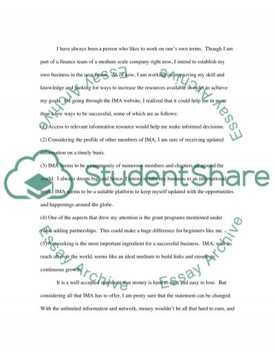 Financial and Managerial Accounting essay example