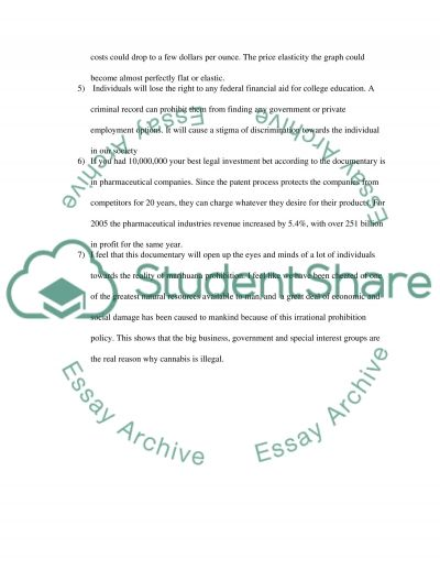 The Union: The Business Behind Getting High essay example