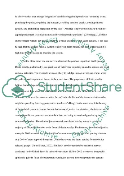 How To Write A Thesis Statement For A Essay Pros And Cons Of The Death Penalty Example Of Thesis Statement For Essay also Marriage Essay Papers Pros And Cons Of The Death Penalty Essay Example  Topics And Well  College Essay Papers