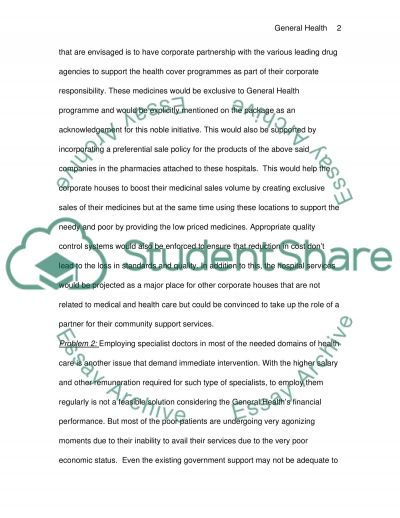 Management Concepts in Hospitals essay example