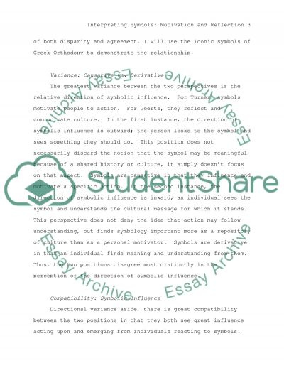 Interpreting Symbols essay example