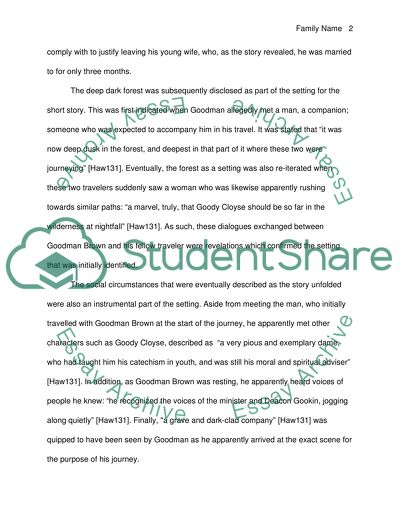 Short Story Reading A critical- Analytical Essay