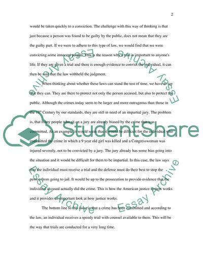 Civics essay