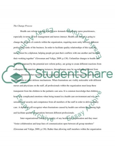 Preferred future, what changes do you forsee as an advanced practice nurse. Relate it to health care reform essay example