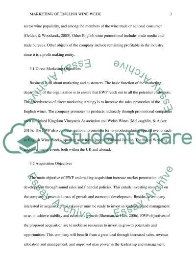 English wine week essay example