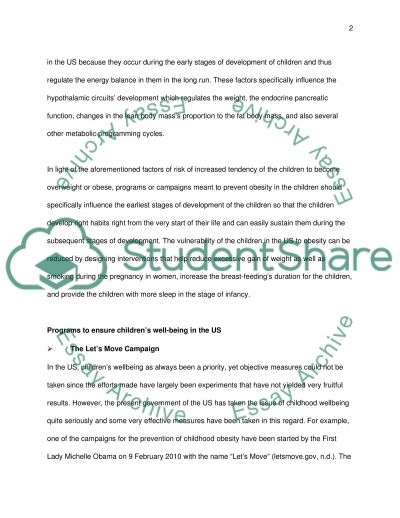 To what extent is childrens well-being a priority in modern western societies essay example
