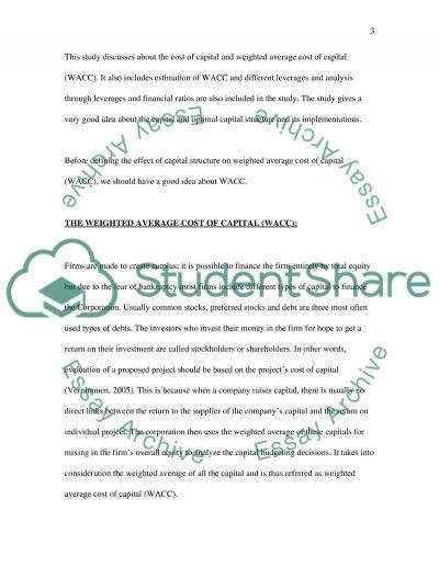 Financial Managment worksheet 3 essay example