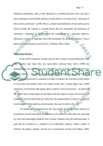 Motivating Hong Kong students in writing English text