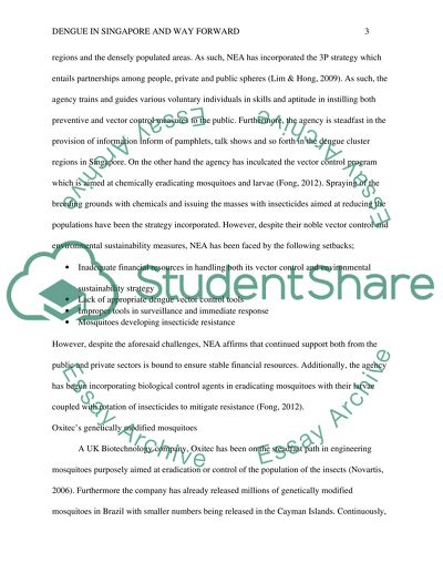 Dengue In Singapore Essay Example  Topics And Well Written Essays  Dengue In Singapore English Sample Essays also Persuasive Essays Examples For High School  English Essay Speech