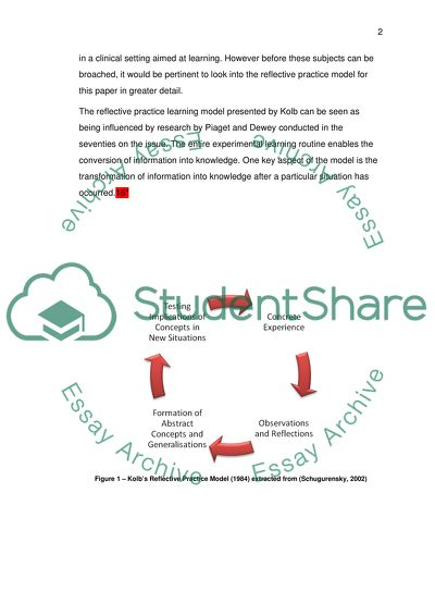 Reflect on and analyse feedback on own teaching (educational review, 3000 words)