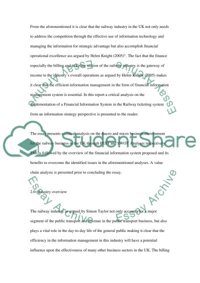 essay about management information system Essays interviews  carlson school of management,  explore management information systems studies and whether it's the right major for you learn how to find .