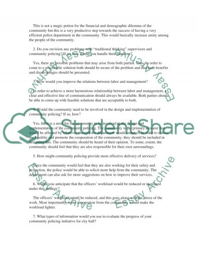 Case study one essay example