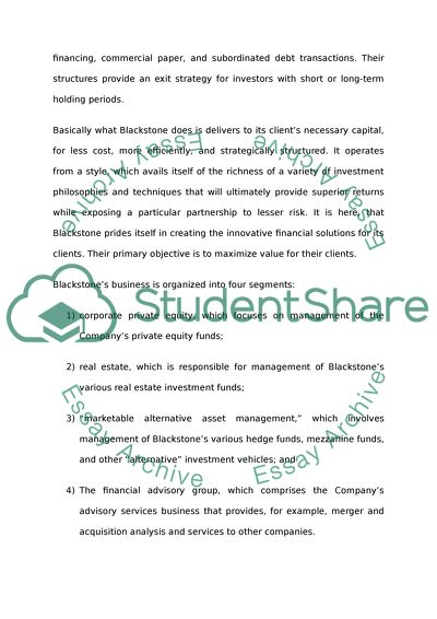 Examples Of Thesis Essays  Example Of A Thesis Statement In An Essay also Persuasive Essay Sample Paper The Structure And Business Of Blackstone Essay Example  Religion And Science Essay