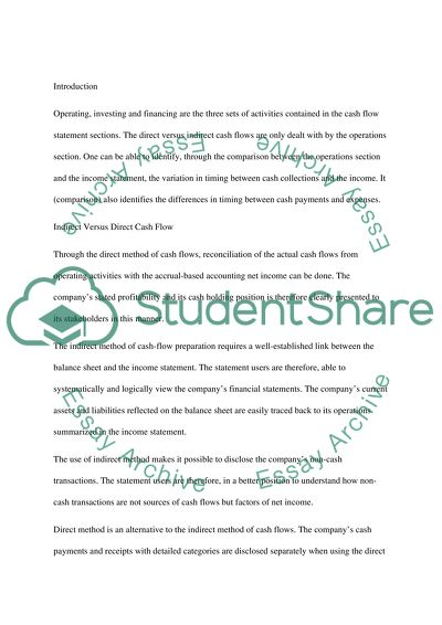accounting essay examples