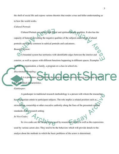 Methods & Survey Research Designs