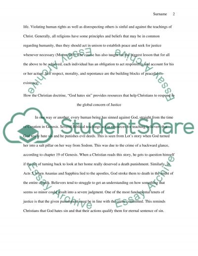 Final Reflection Paper essay example
