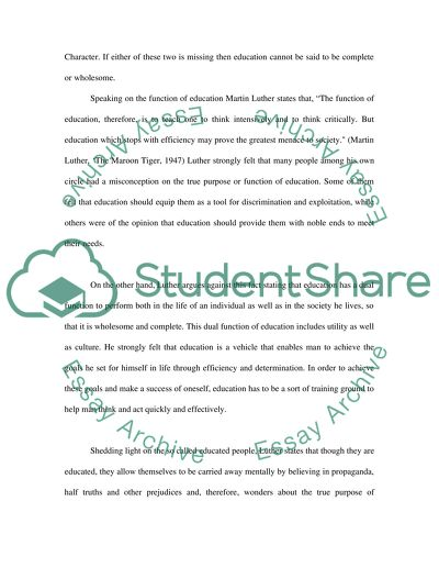 personal statement martin luther king essay example  topics and  personal statement martin luther king