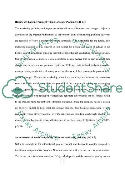 essay planning techniques