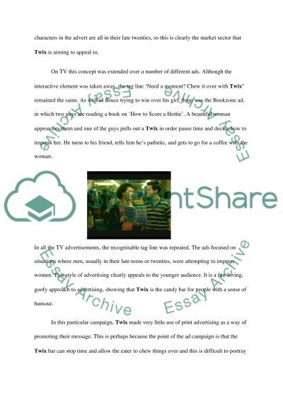 Advertising Journal #3 essay example