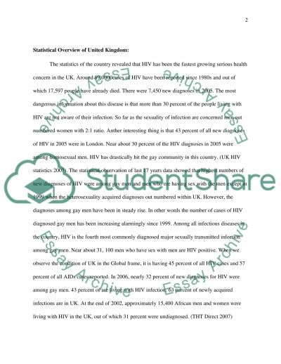 Health and Health Care in London essay example