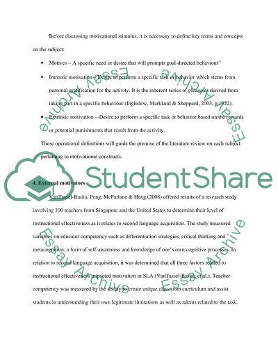 Language acquisition essay