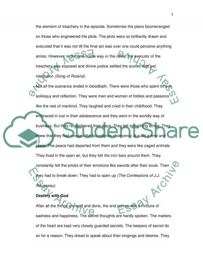 Concept of Human Nature essay example