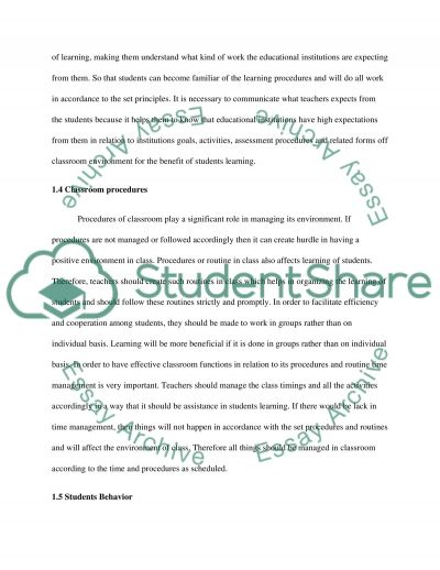Critique of Professional Article - Education essay example