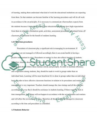 Critique of Professional Article - Education